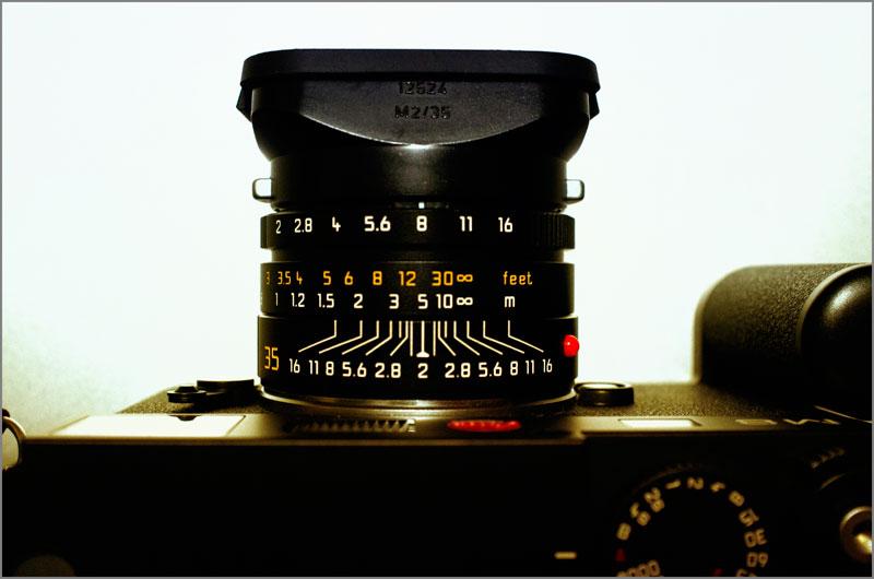 Leica Summicron 35mm. con f:8