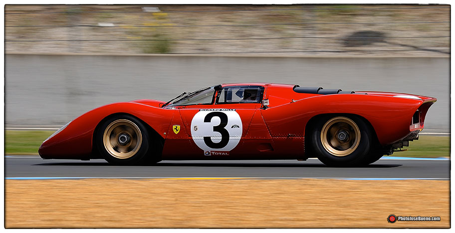 Le Mans Classic - Circuito de Le Mans Nikon D700 - Nikkor 300mm. - 1/125s - f:16 - ISO 200